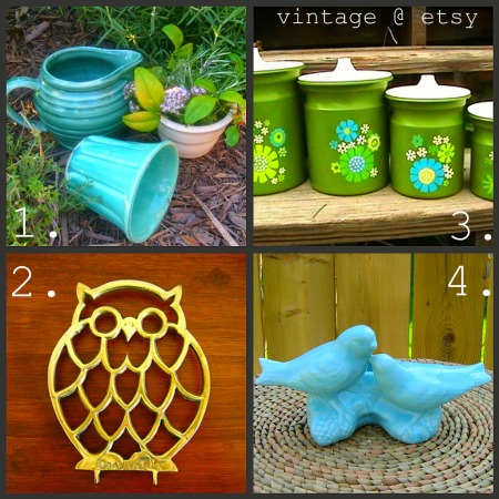 vintage finds via etsy